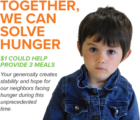 Together we can solve hunger